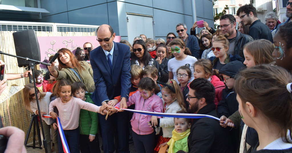 Jean Paul Jospeh inaugure la Pension Magali